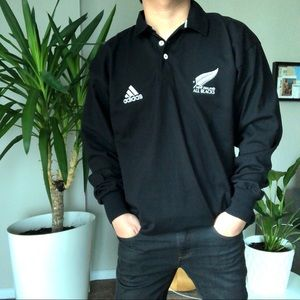 Adidas New Zealand All Blacks Rugby Shirt